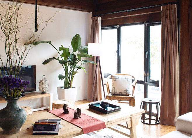 11个中式客厅装修效果图 感受复古式清新图片