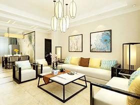 11个中式客厅装修效果图 感受复古式清新