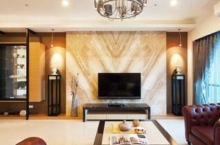 198平米新古典家电视背景墙设计