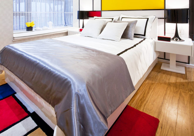 103平米装修效果图卧室设计