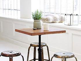 小户型舒适用餐 12款小尺寸餐桌是首选