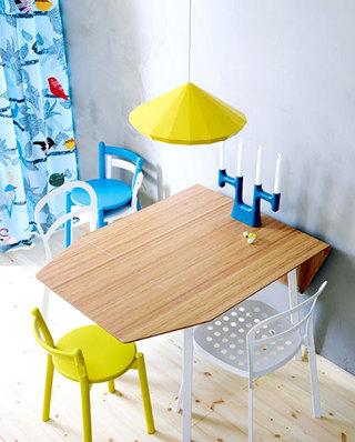 折叠餐桌为小户型省空间
