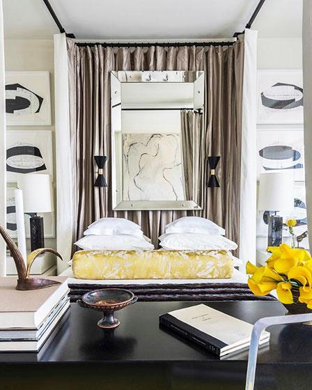 简欧公寓装修卧室设计