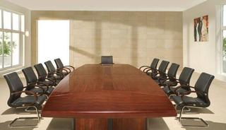 中式会议室设计效果图片大全