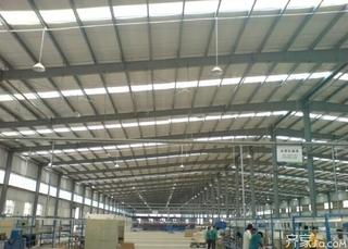 大型工业厂房装修效果图