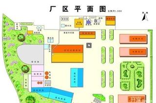 厂房绿化平面图