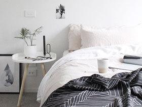 简单的纯粹 15款黑白卧室设计