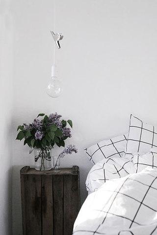 黑白卧室设计