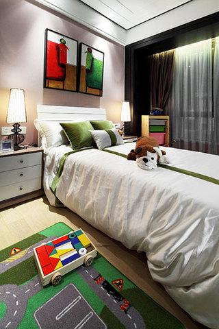 150平米装修效果图中式儿童房设计