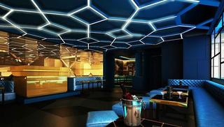 优雅酒吧设计效果图