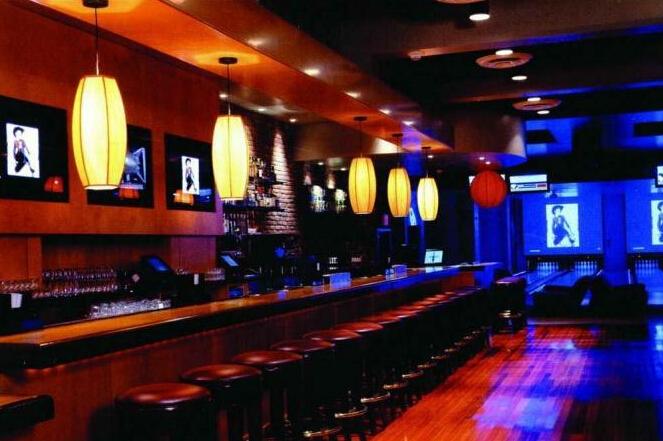 日式酒吧吧臺裝修效果圖