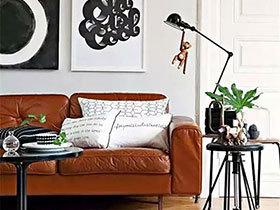 11款棕色皮质沙发 坐享高贵质感