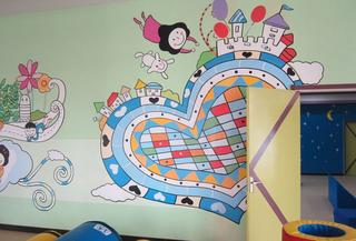 幼儿园墙面布置图片大全
