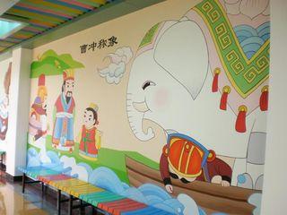 幼儿园墙绘设计图片大全