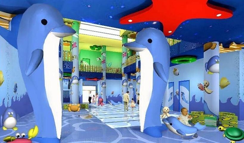 幼儿园大厅设计图片大全