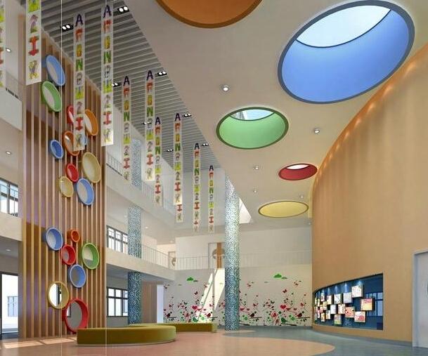幼兒園大廳設計圖片大全