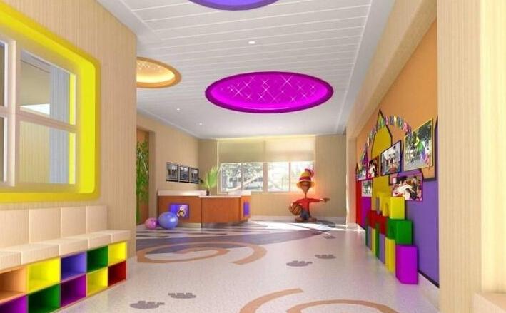 幼兒園室內裝飾效果圖大全