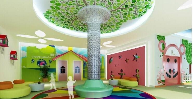 呆萌幼儿园装修装饰设计效果图