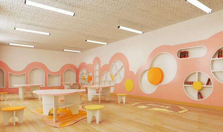 现代幼儿园室内设计效果图