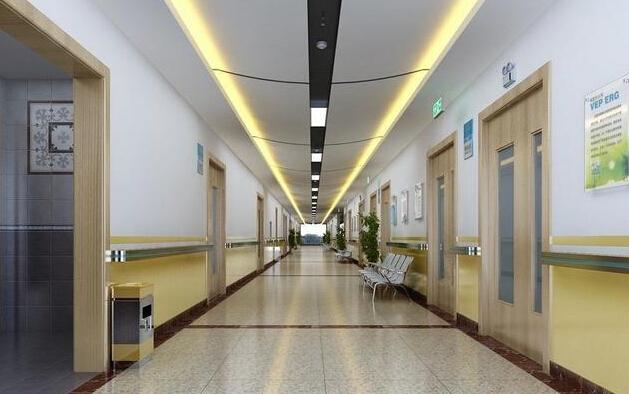 医院装修过道效果图欣赏