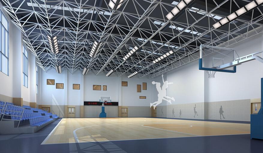 体育馆室内装修效果图