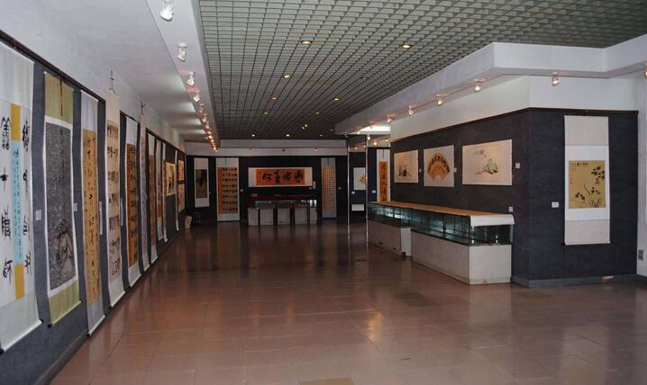 小型书画展厅设计_齐家网装修效果图图片