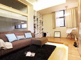 简约温馨家 43平米小户型空间