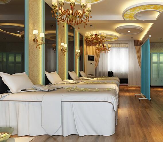 韩式美容院装饰设计室内图片图片