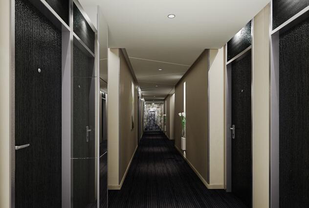 宾馆走道设计装饰效果图片