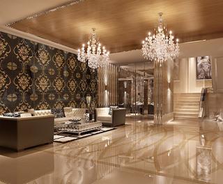 宾馆沙发装饰设计效果图