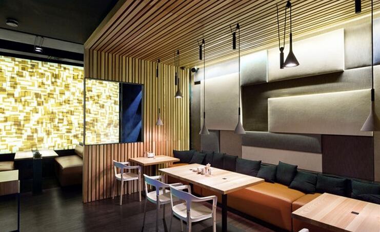 咖啡厅室内装潢设计效果图片