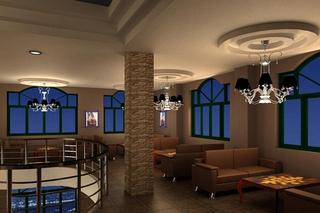 咖啡厅装饰室内雅座效果图片