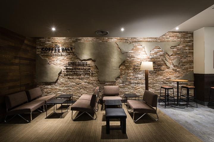创意咖啡厅设计装饰效果图片案例