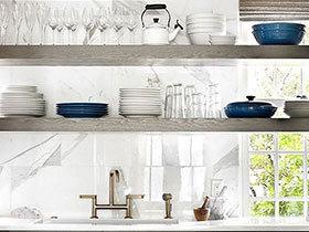 处女座必看 11个整洁收纳厨房案例