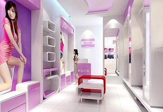 女服装店室内设计装修图片欣赏