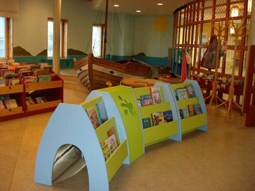 儿童图书馆设计室内装修图片图片