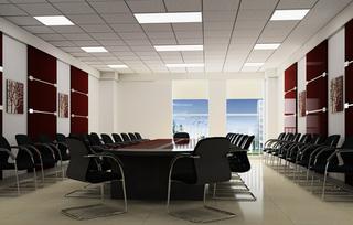 公司会议室室内设计图案例
