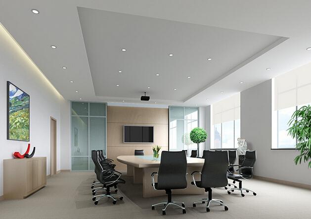 简约会议室室内设计图案例