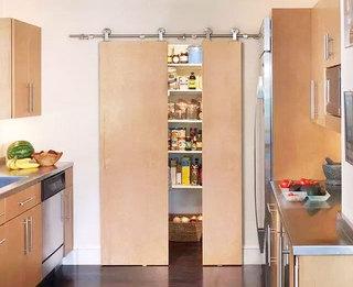 创意储物空间隐形门设计
