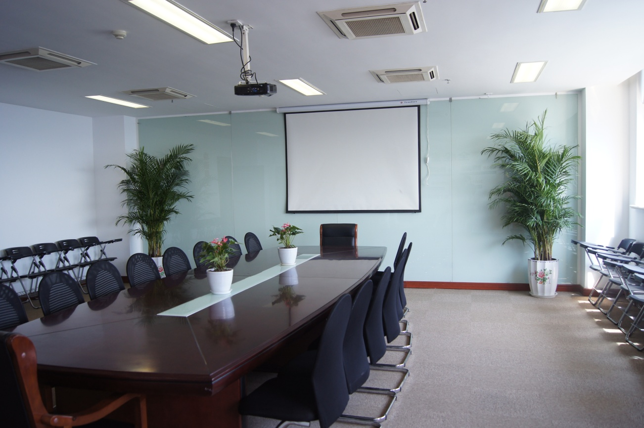 多媒体会议室室内设计图案例