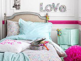 11个马卡龙色卧室 品味粉彩微甜
