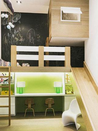 100平方装修效果图儿童房设计