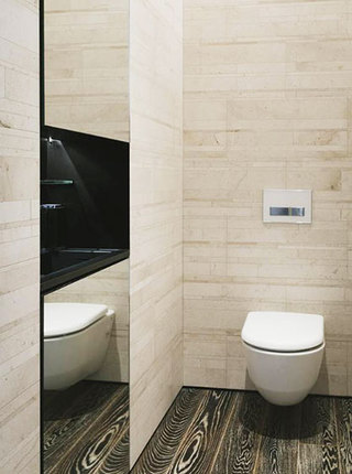 100平方装修效果图卫生间设计