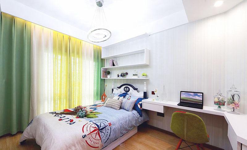 130平方装修效果图儿童房设计