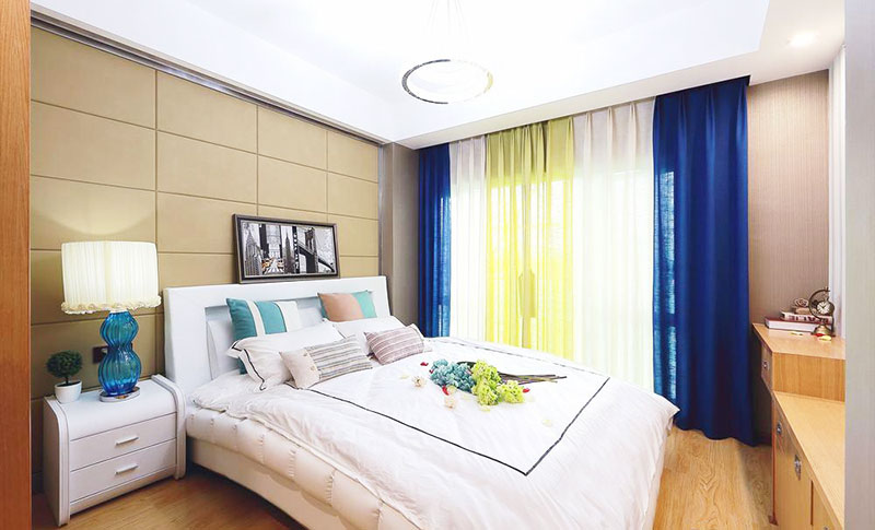 130平方装修效果图卧室设计