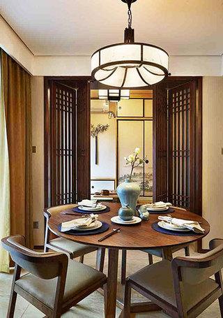 两室一厅装修图餐厅设计