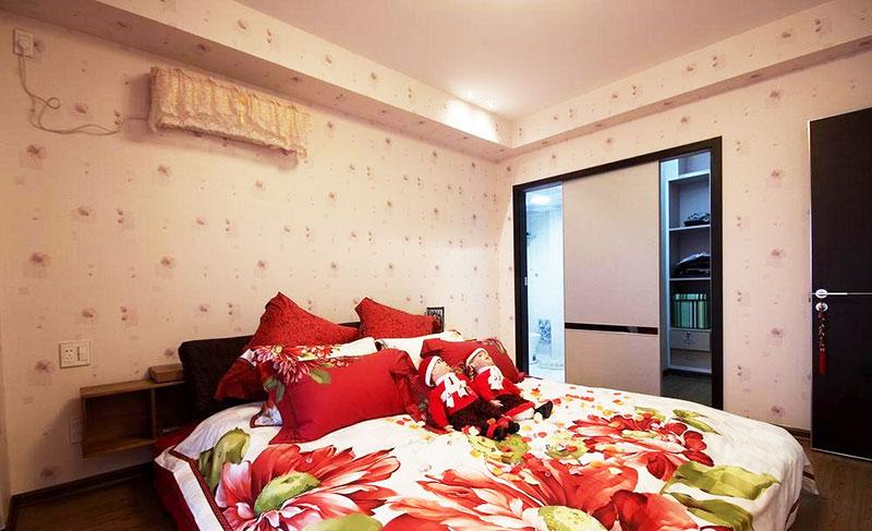 110平方米装修效果图卧室设计