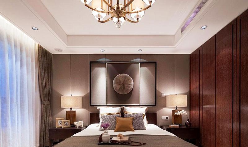 典雅新中式卧室设计