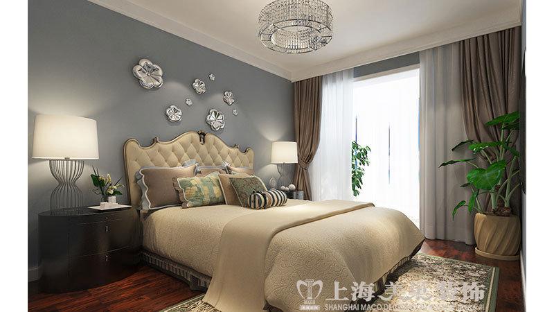 120平方三室两厅简欧风格装修效果图图片
