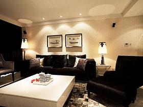 137平米輕奢空間 現代風格裝修樣板房